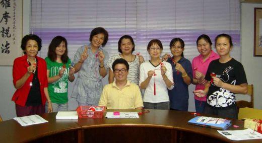 2012年中国结基础班结业
